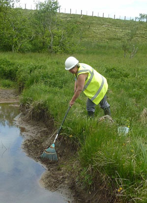 The wildlife partnership development ecology and planning for Design of settlement ponds
